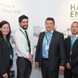 Hanley Energy team