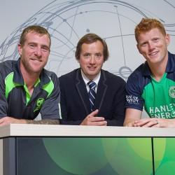 Official sponsor Cricket Ireland
