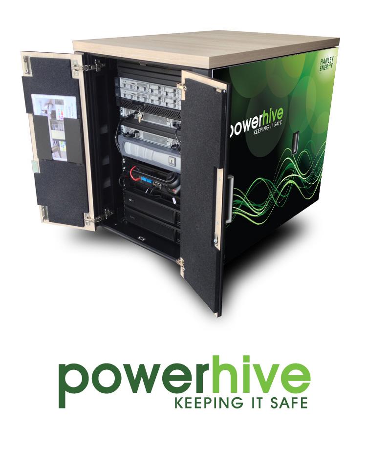 PowerHive branded