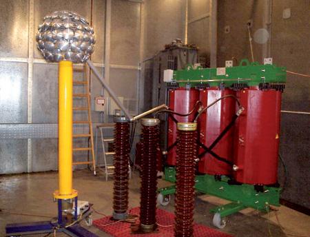 Cast Resin Transformer tests