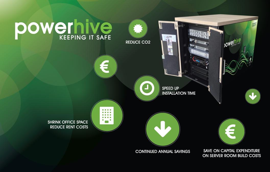 Built Environment powerhive advert