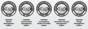 iso certification badges