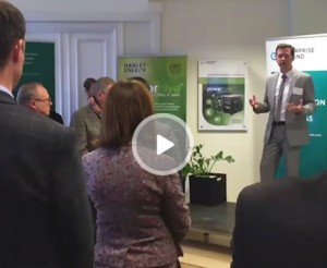 video play Powerhive launch at Irish Embassy in Sweden