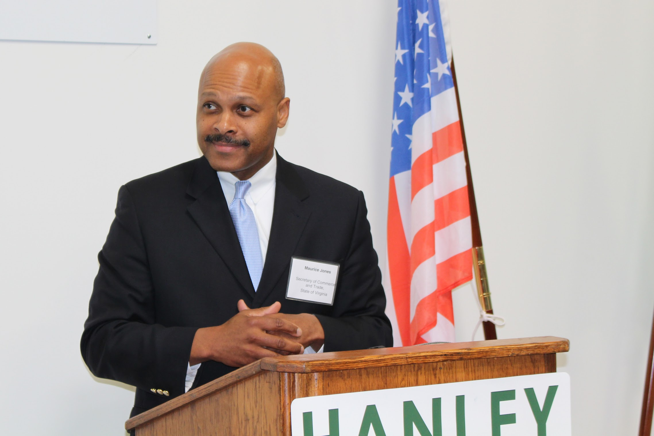 Maurice Jones, Secretary of Commerce and Trade for State of Virginia