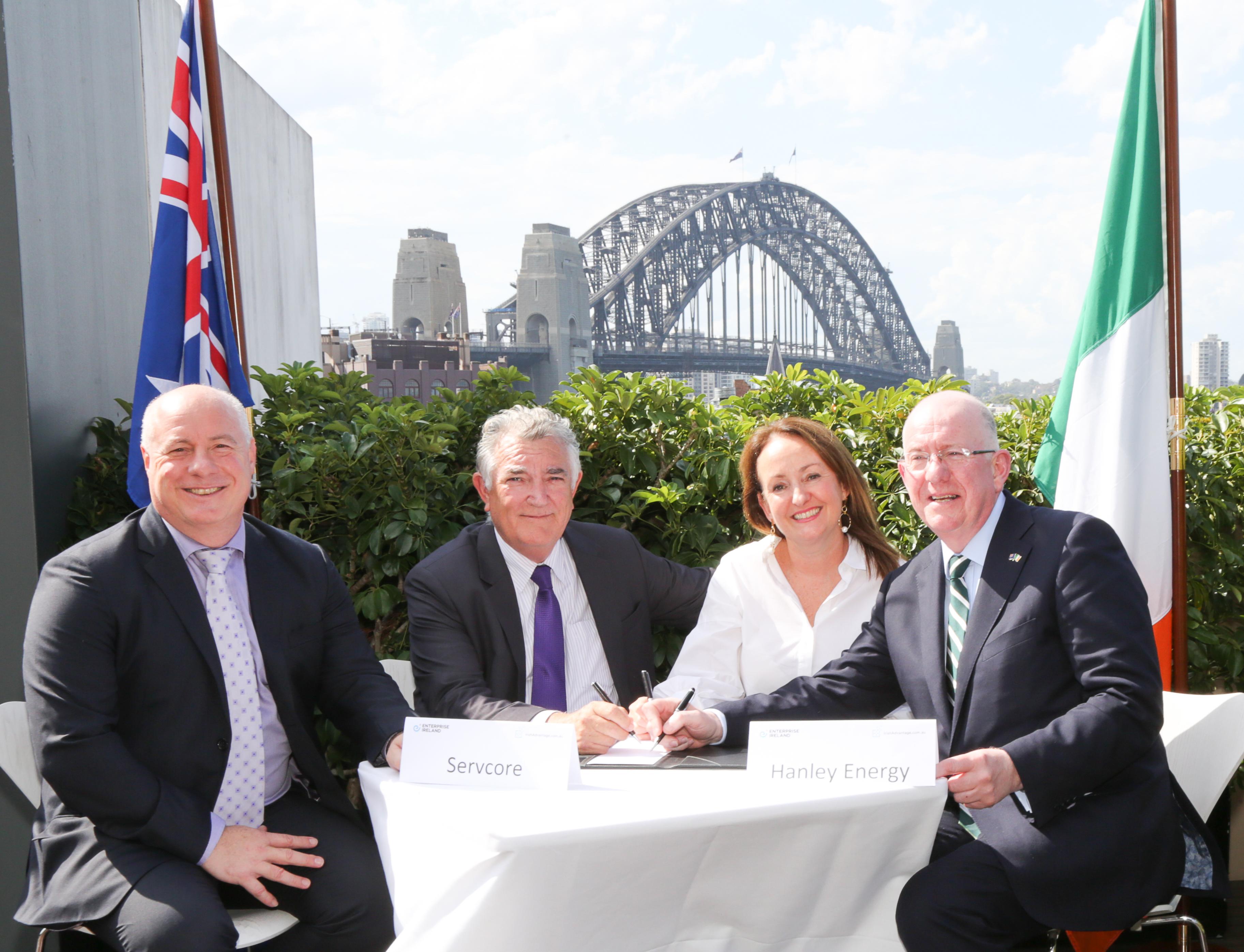 servcore australia partnership