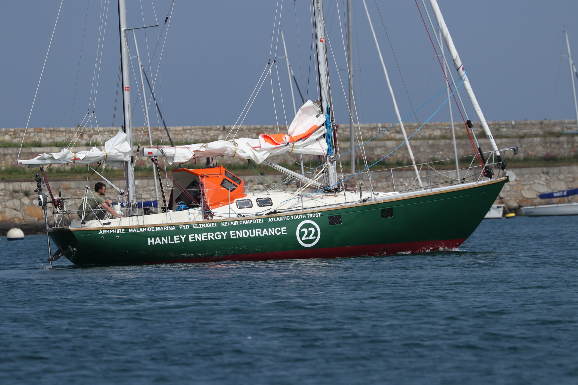 Irish solo sailor, Gregor McGuckin, preparing for Golden Globe race with Hanley Energy as headline sponsor