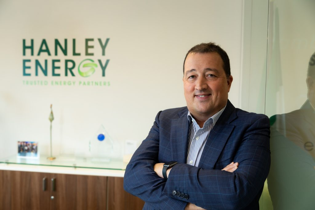 Hanley Energy Managing Director, Dennis Nordon, speaks to Amazon Day One