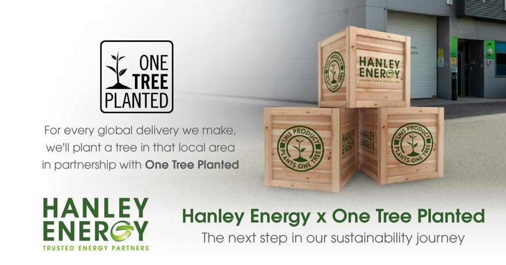 Hanley Energy x One Tree Planted