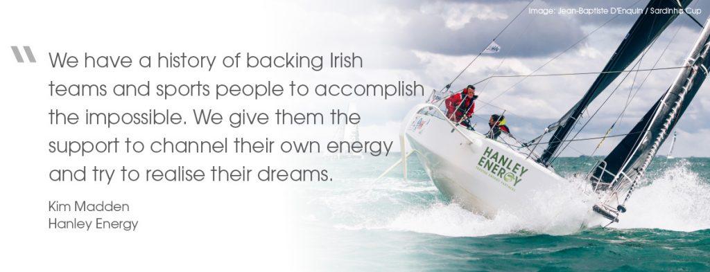 RL sailing - Kim Madden quote 1