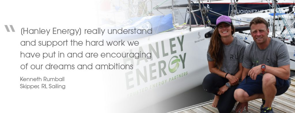 RL Sailing Team - Kenneth Rumball quote